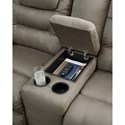Signature Design by Ashley McCade Double Reclining Loveseat with Center Console