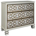 Signature Design by Ashley Senzernell Accent Cabinet - Item Number: A4000068