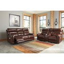 Signature Design by Ashley Sessom Power Reclining Living Room Group - Item Number: U12405 Living Room Group 1