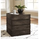 Signature Design by Ashley Shallia Solid Wood Square End Table
