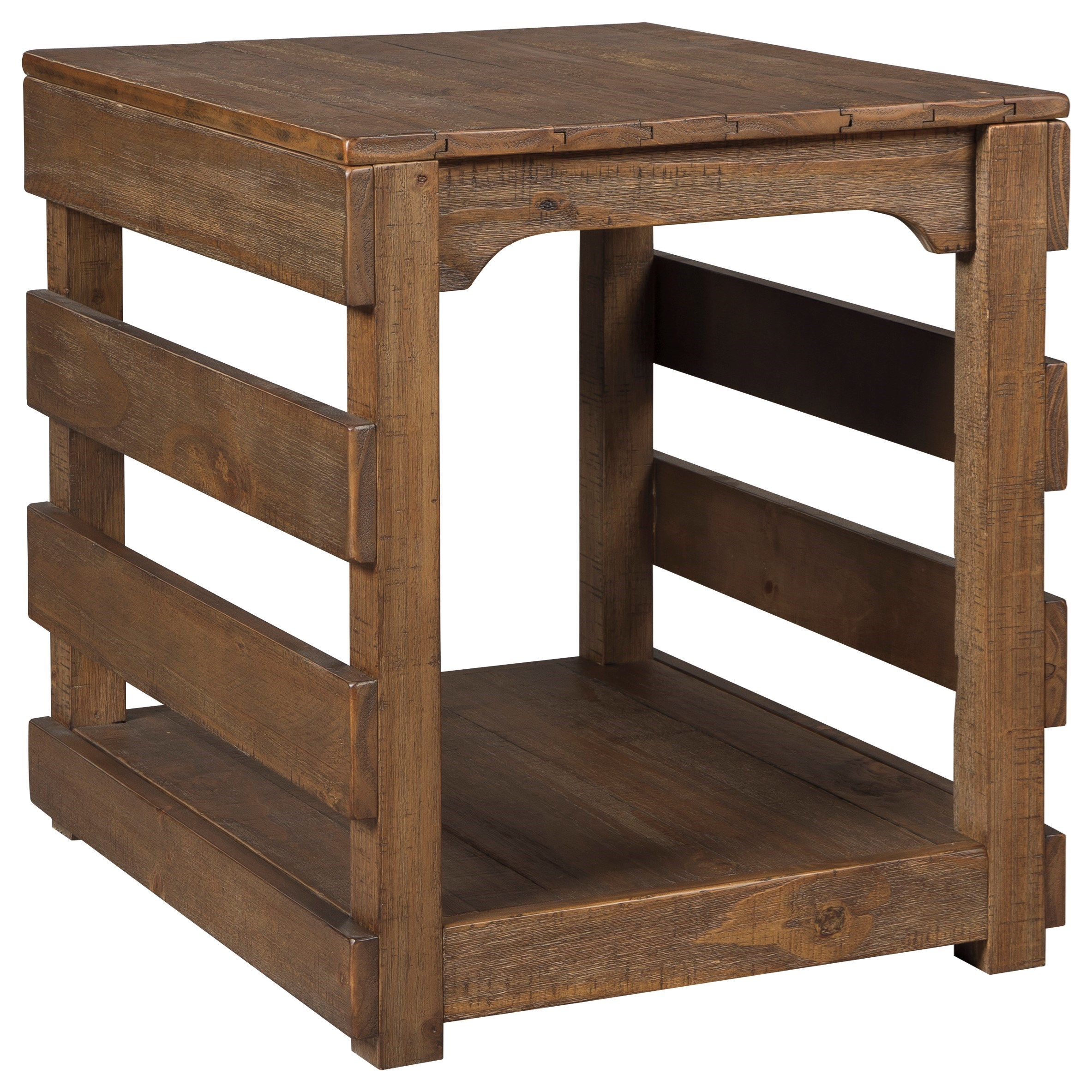 Signature Design by Ashley Shanlore Rectangular End Table - Item Number: T795-3