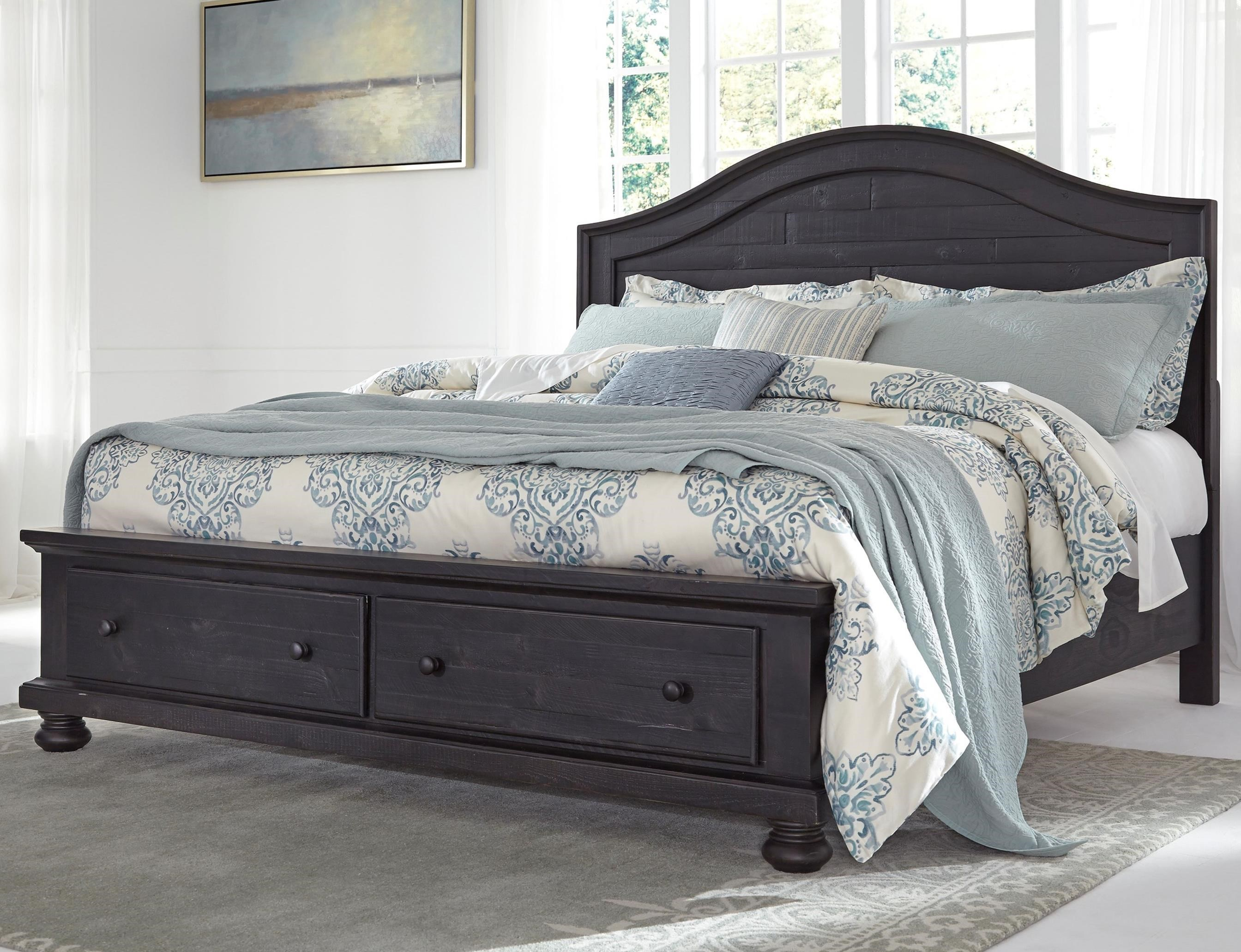 Signature Design by Ashley Sharlowe King Storage Bed - Item Number: B635-58+56S+97S