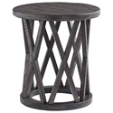 Signature Design by Ashley Sharzane Round End Table - Item Number: T711-6