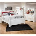 Signature Design by Ashley Weeki 3 Piece King Bedroom Group - Item Number: B270 K Bedroom Group 1