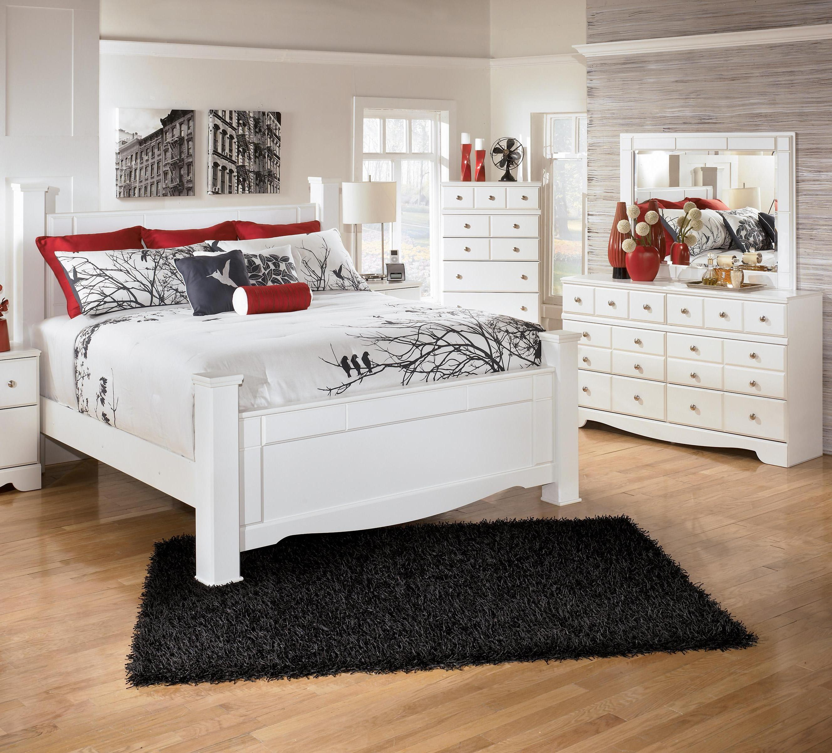 Ashley Home Furniture Bedroom Sets: Signature Design By Ashley Weeki 3 Piece Queen Bedroom
