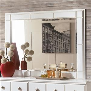 Signature Design by Ashley Weeki Landscape Dresser Mirror
