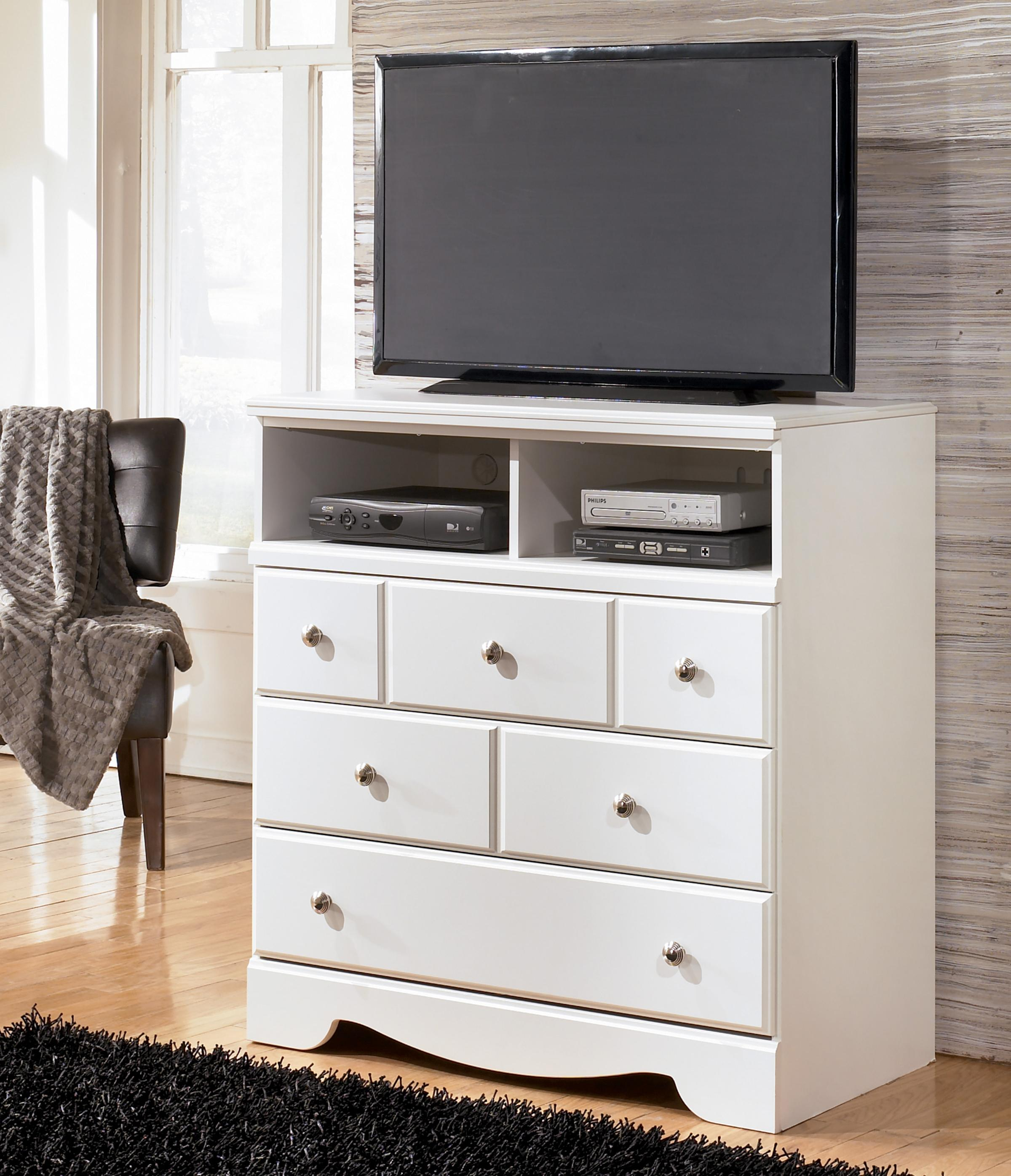 Signature Design by Ashley Weeki 3 Drawer Media Chest - Item Number: B270-39