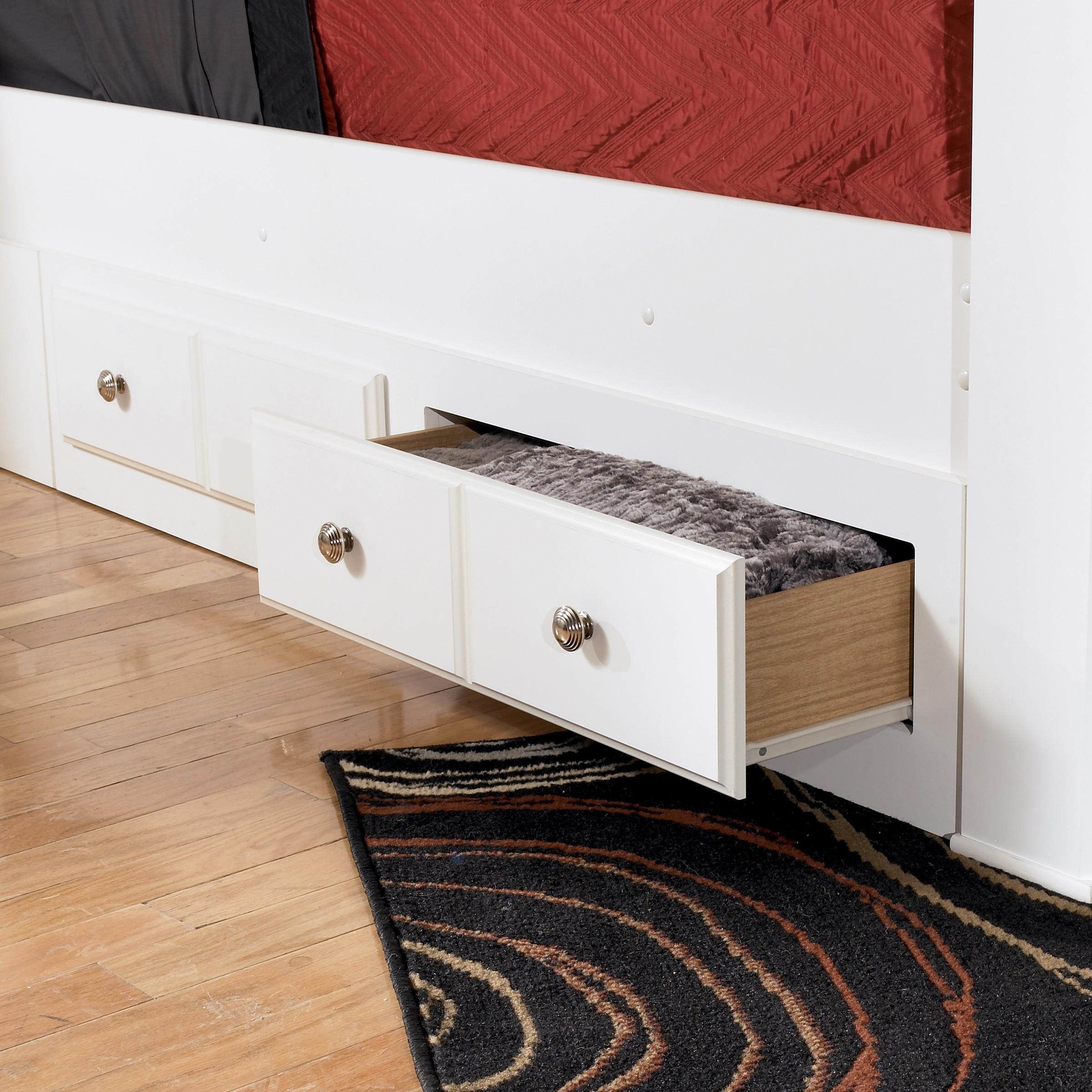 Queen/King Bed Storage