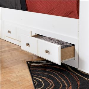 Signature Design by Ashley Weeki Queen/King Bed Storage