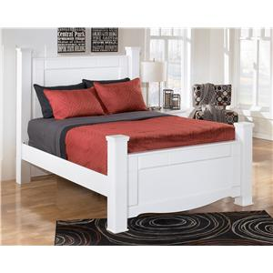 Signature Design by Ashley Weeki Queen Poster Bed