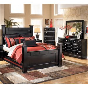 Signature Design by Ashley Shay 4 Piece King Bedroom Group