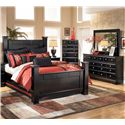 Signature Design by Ashley Shay 4 Piece King Bedroom Group - Item Number: B271 K 4 Piece