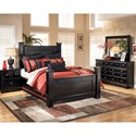 Signature Design by Ashley Shay Queen Bedroom Group - Item Number: B271 Q Bedroom Group 1