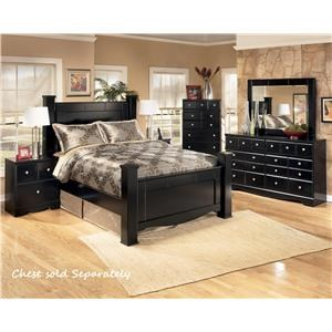 Signature Design by Ashley Shay Queen 4-Piece Bedroom Group
