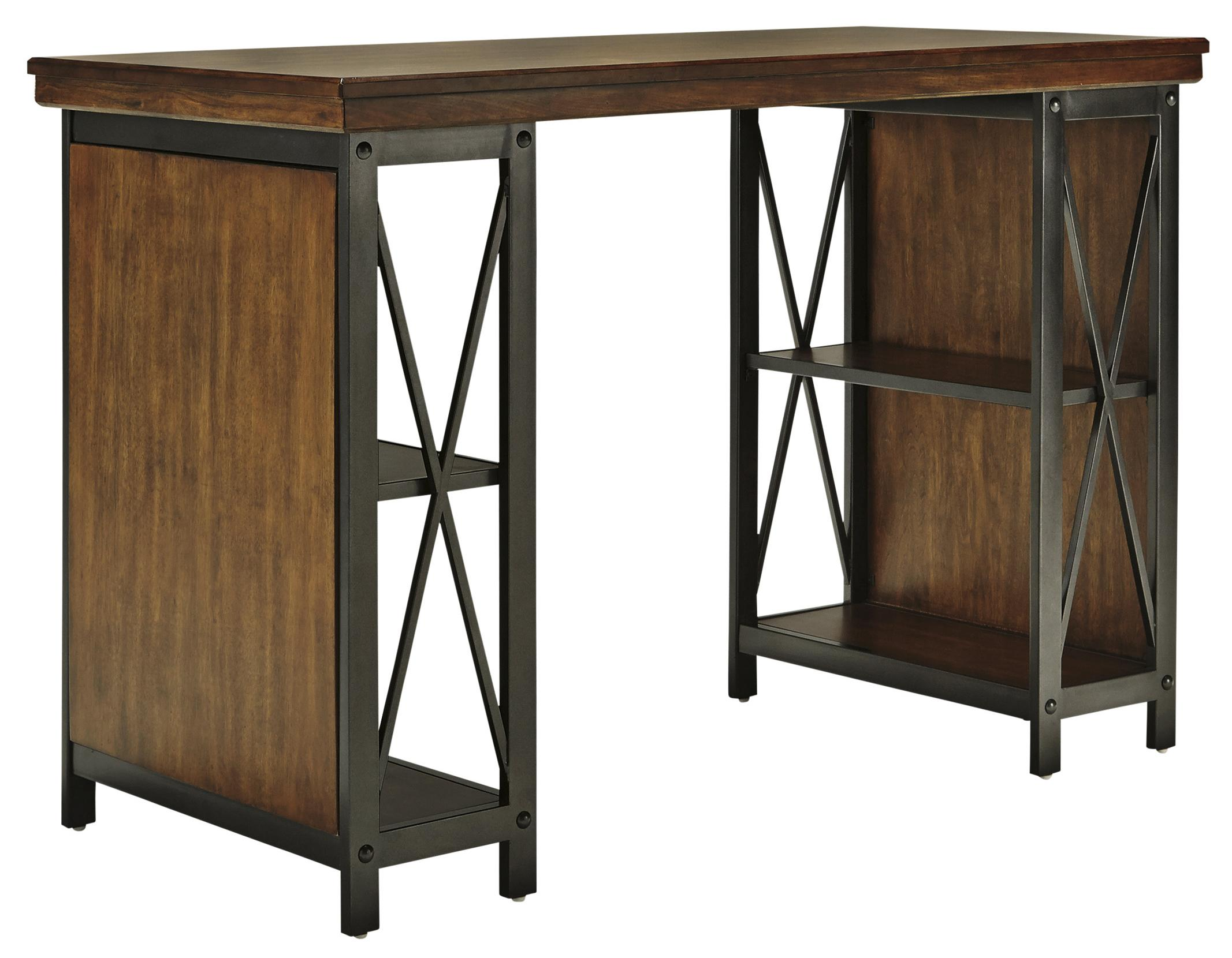 Signature Design by Ashley Shayneville Home Office Counter Large Desk - Item Number: H526-34