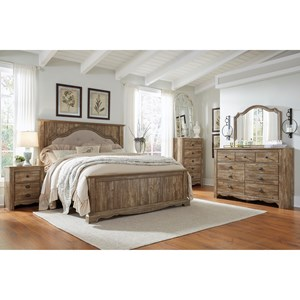 Signature Design by Ashley Shellington King Bedroom Group