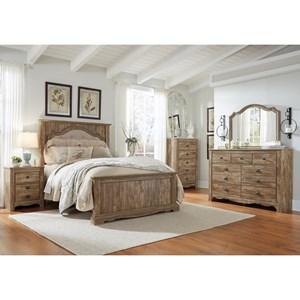 Benchcraft Shellington Queen Bedroom Group