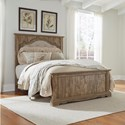 Signature Design by Ashley Shellington Queen Panel Bed - Item Number: B336-57+96+54