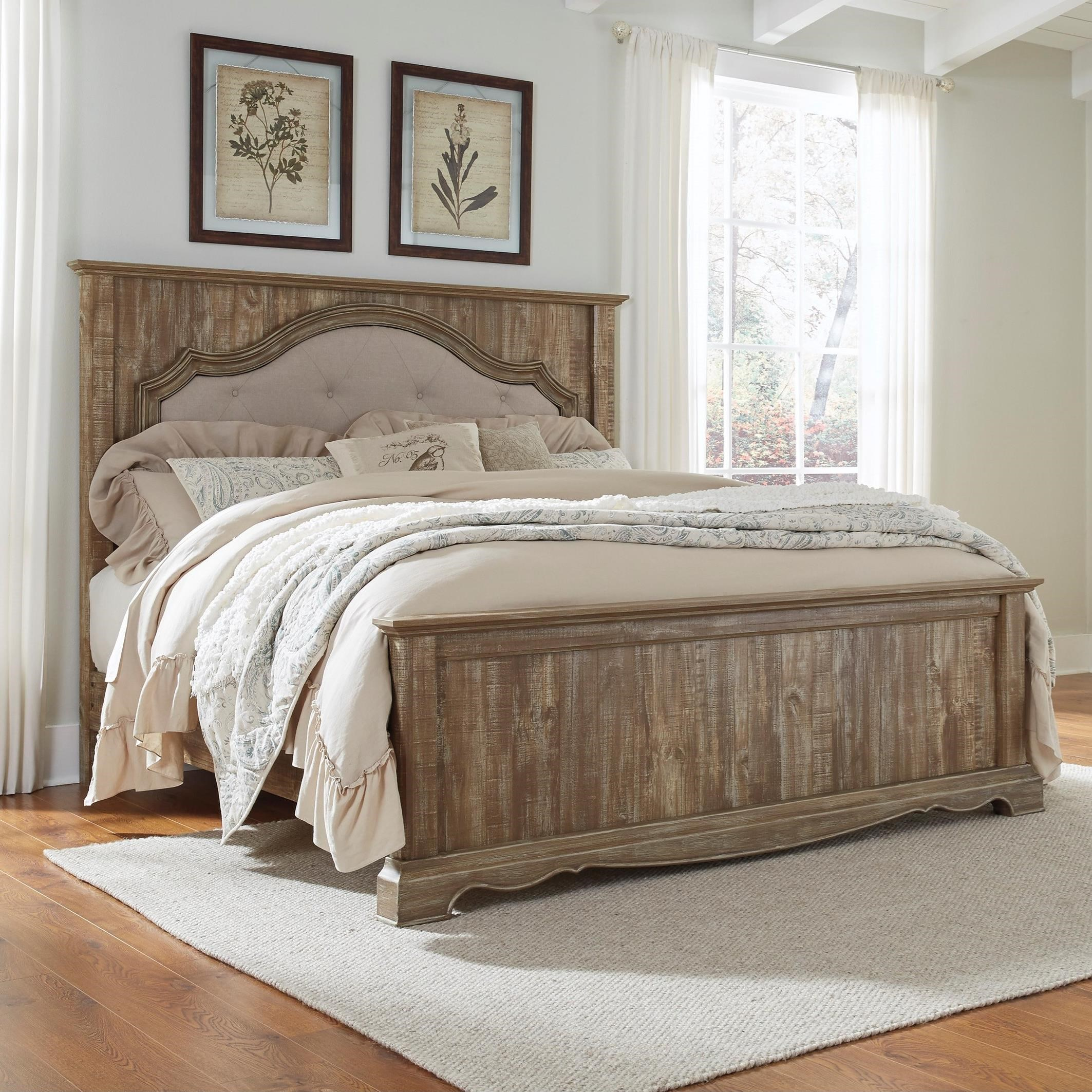 Signature Design by Ashley Shellington King Panel Bed - Item Number: B336-58+97+56