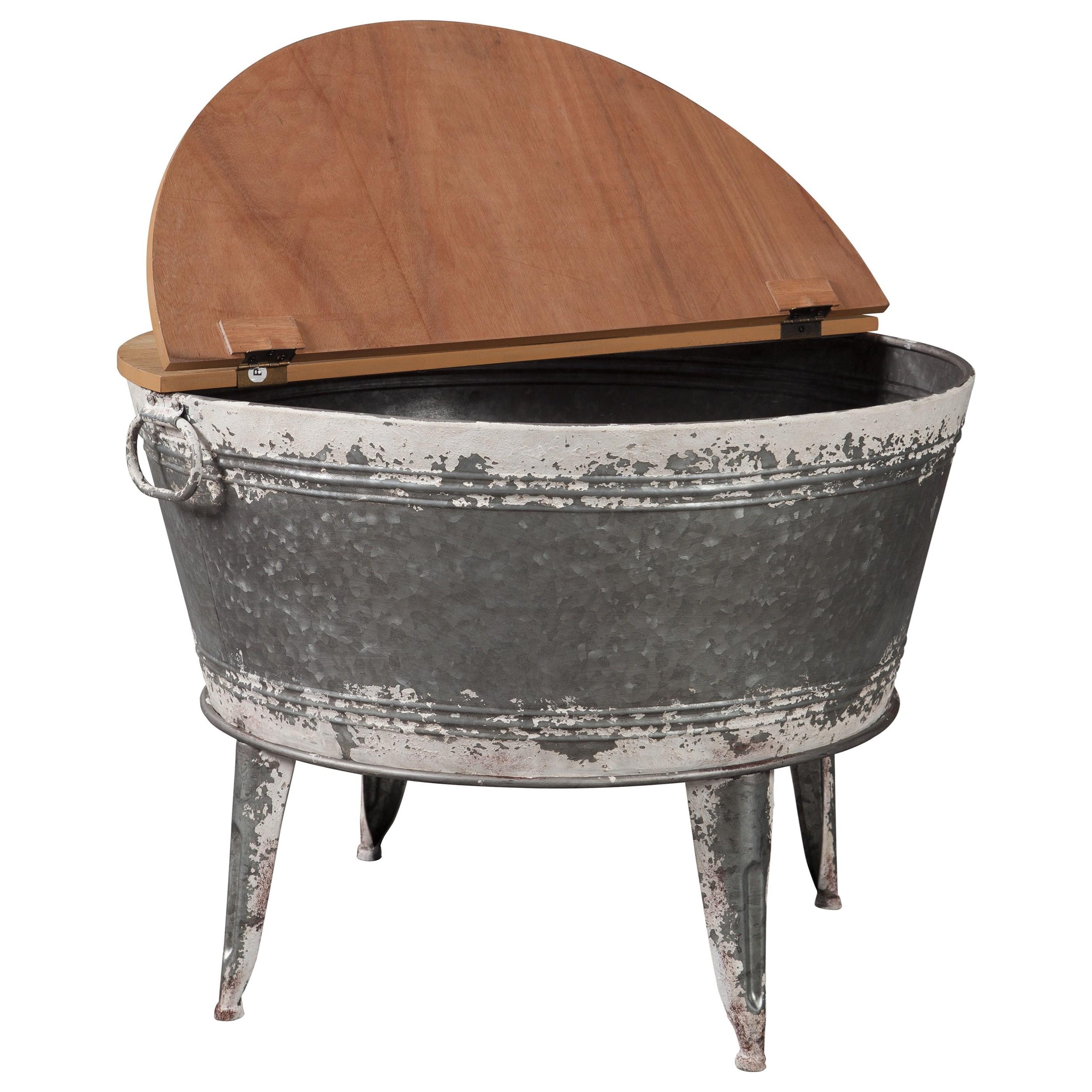 Storage Coffee Table Ashley: Signature Design By Ashley Shellmond A4000209 Modern