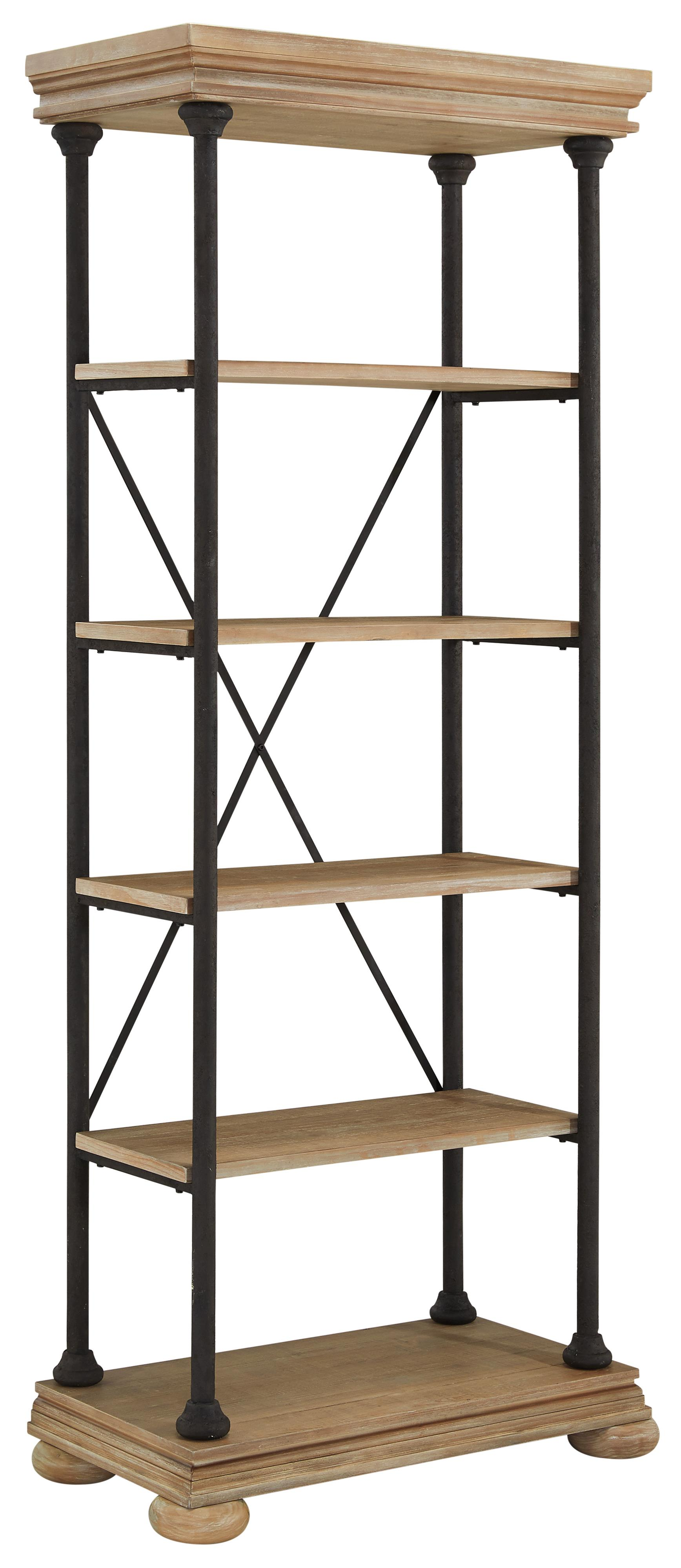 Signature Design by Ashley Shennifin Large Bookcase - Item Number: H862-17