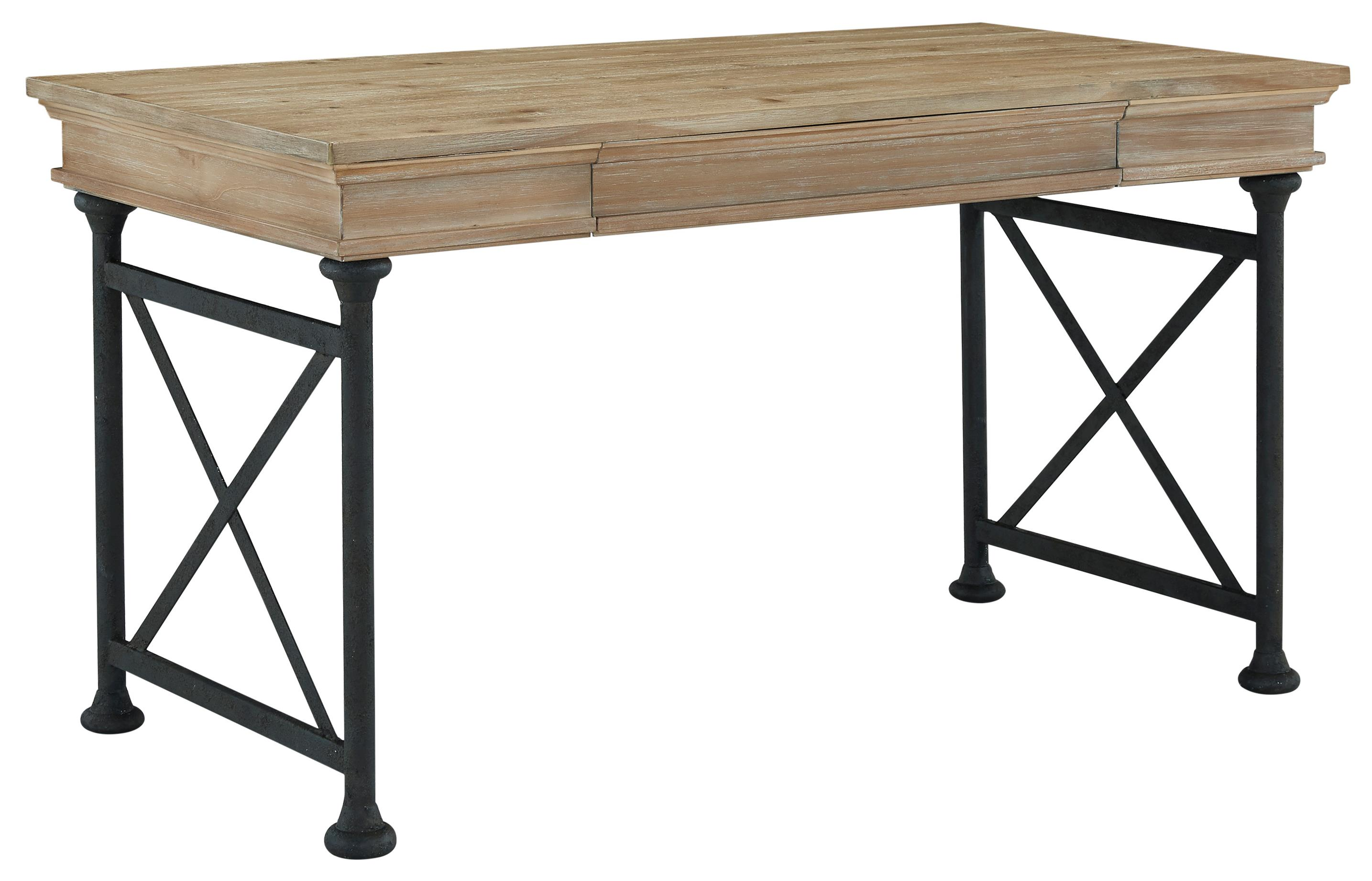 Signature Design by Ashley Shennifin Home Office Large Leg Desk - Item Number: H862-44