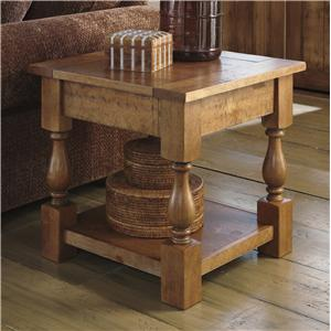 Signature Design by Ashley Shirwind Square End Table