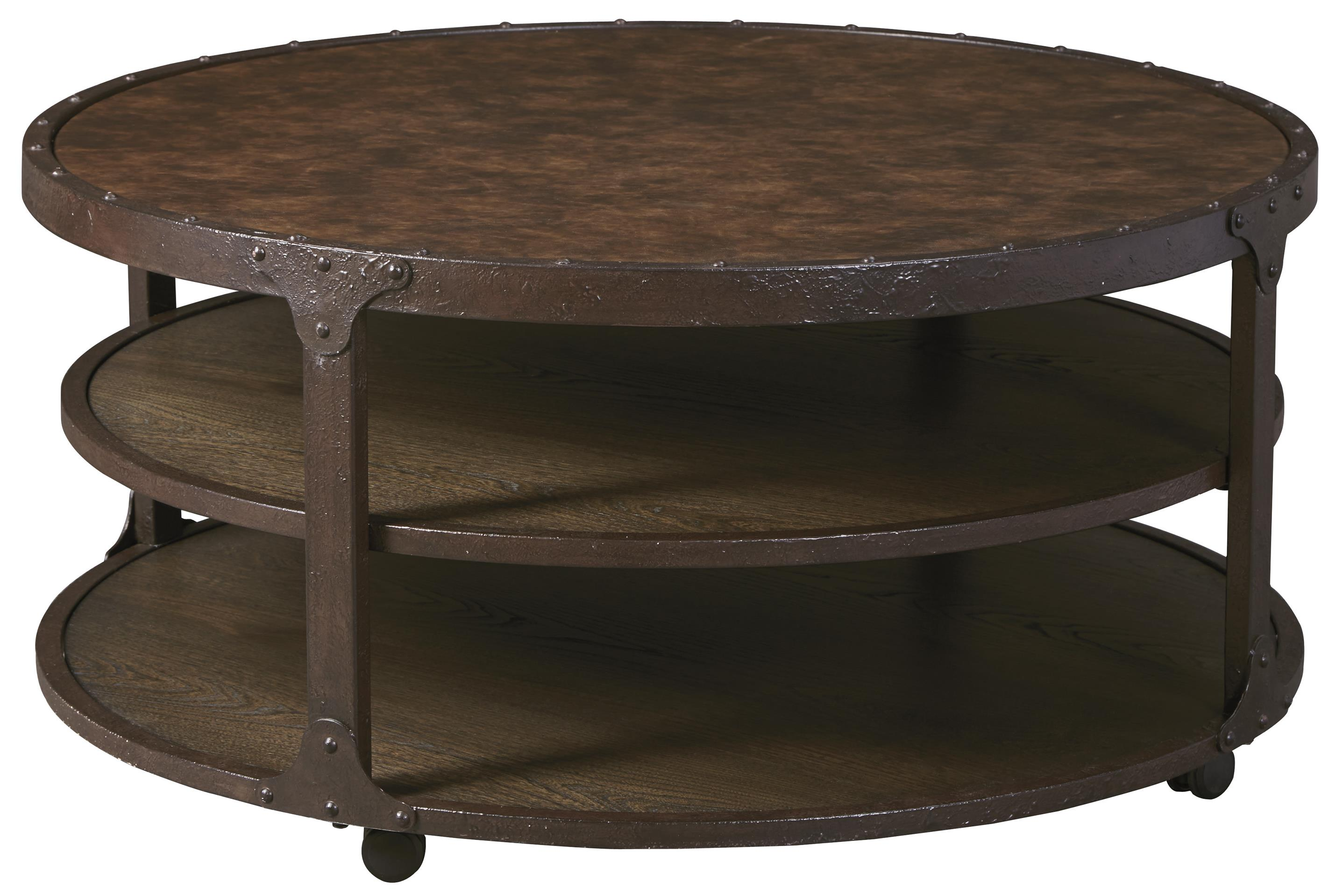 Signature Design by Ashley Shofern Round Cocktail Table - Item Number: T702-8