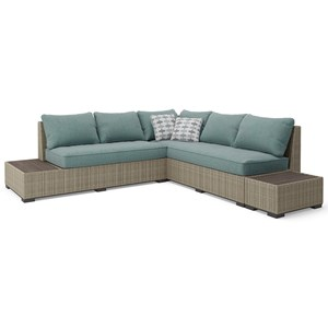 Signature Design by Ashley Silent Brook Outdoor Sectional Set