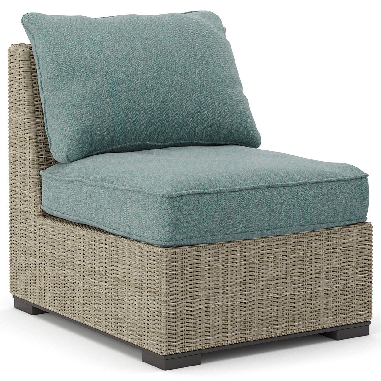 Signature Design by Ashley Silent Brook Armless Chair w/ Cushion - Item Number: P443-846