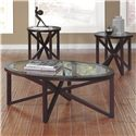 Signature Design by Ashley Sleffine Occasional Table Set - Item Number: T291-13