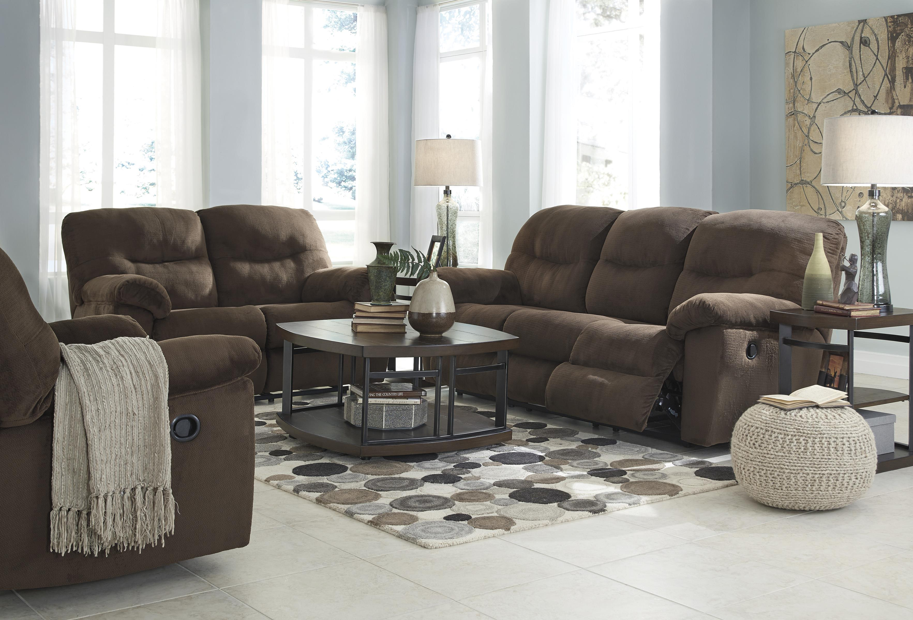 Signature Design by Ashley Slidell Reclining Living Room Group - Item Number: 82702 Living Room Group 2