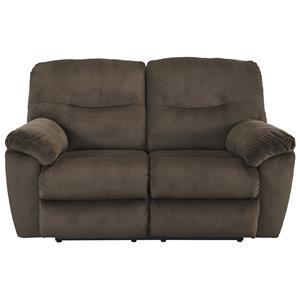Signature Design by Ashley Furniture Slidell Reclining Loveseat