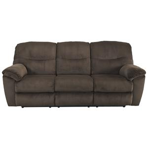Signature Design by Ashley Slidell Reclining Sofa