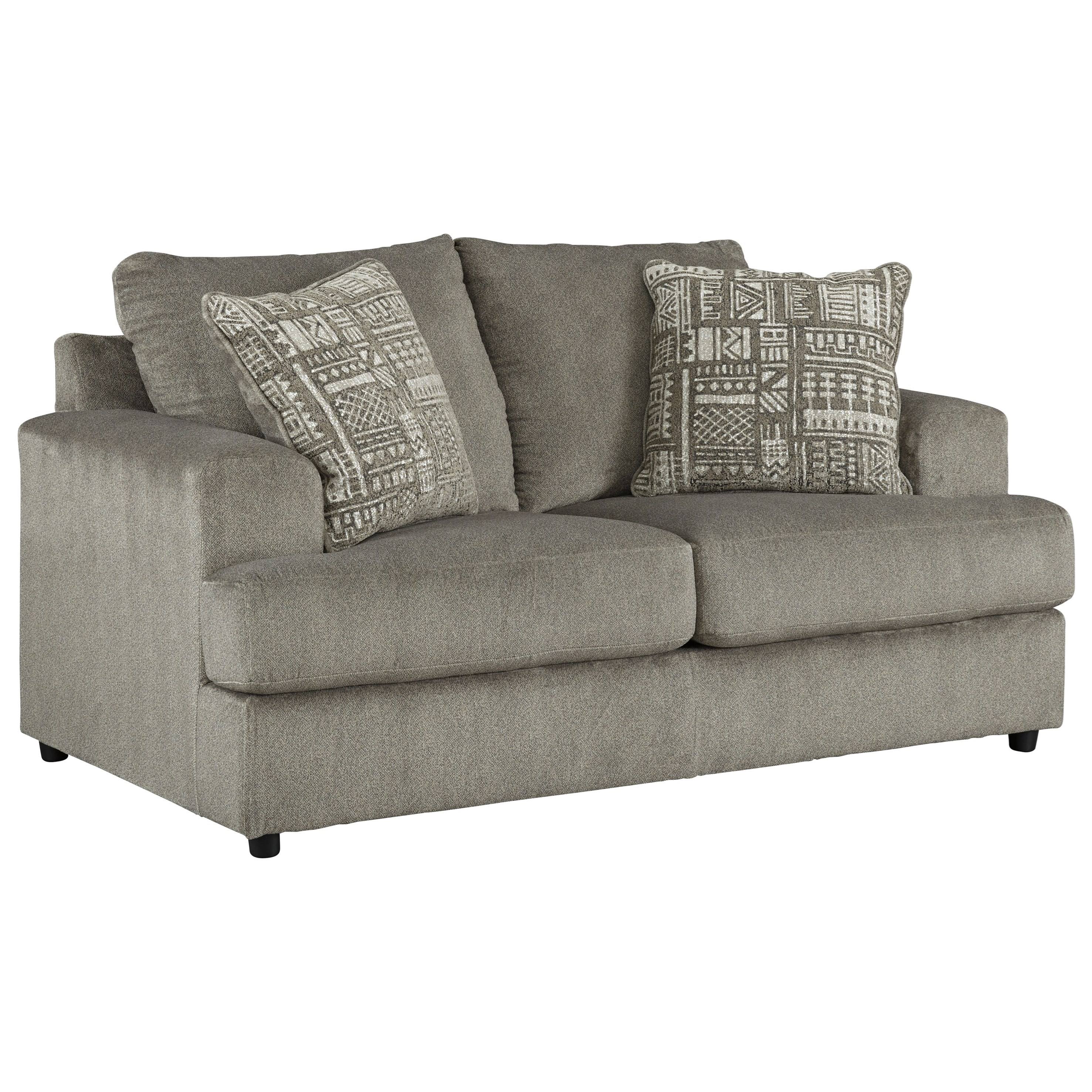 Soletren Loveseat by Signature Design by Ashley at Beck's Furniture