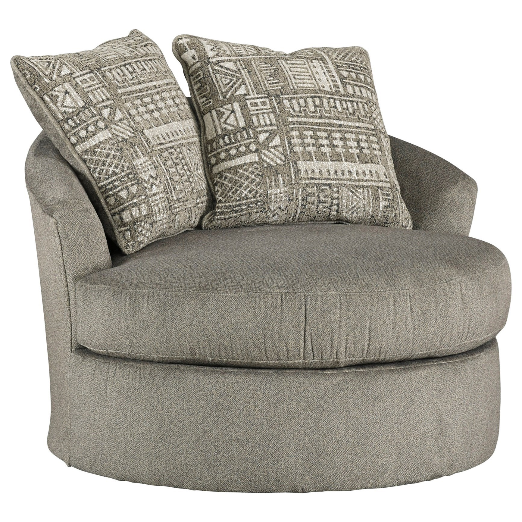 Soletren Swivel Accent Chair by Ashley at Morris Home