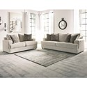 Signature Design by Ashley Soletren Stationary Living Room Group - Item Number: 95104 Living Room Group 1