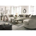 Signature Design by Ashley Soletren Stationary Living Room Group - Item Number: 95104 Living Room Group 3