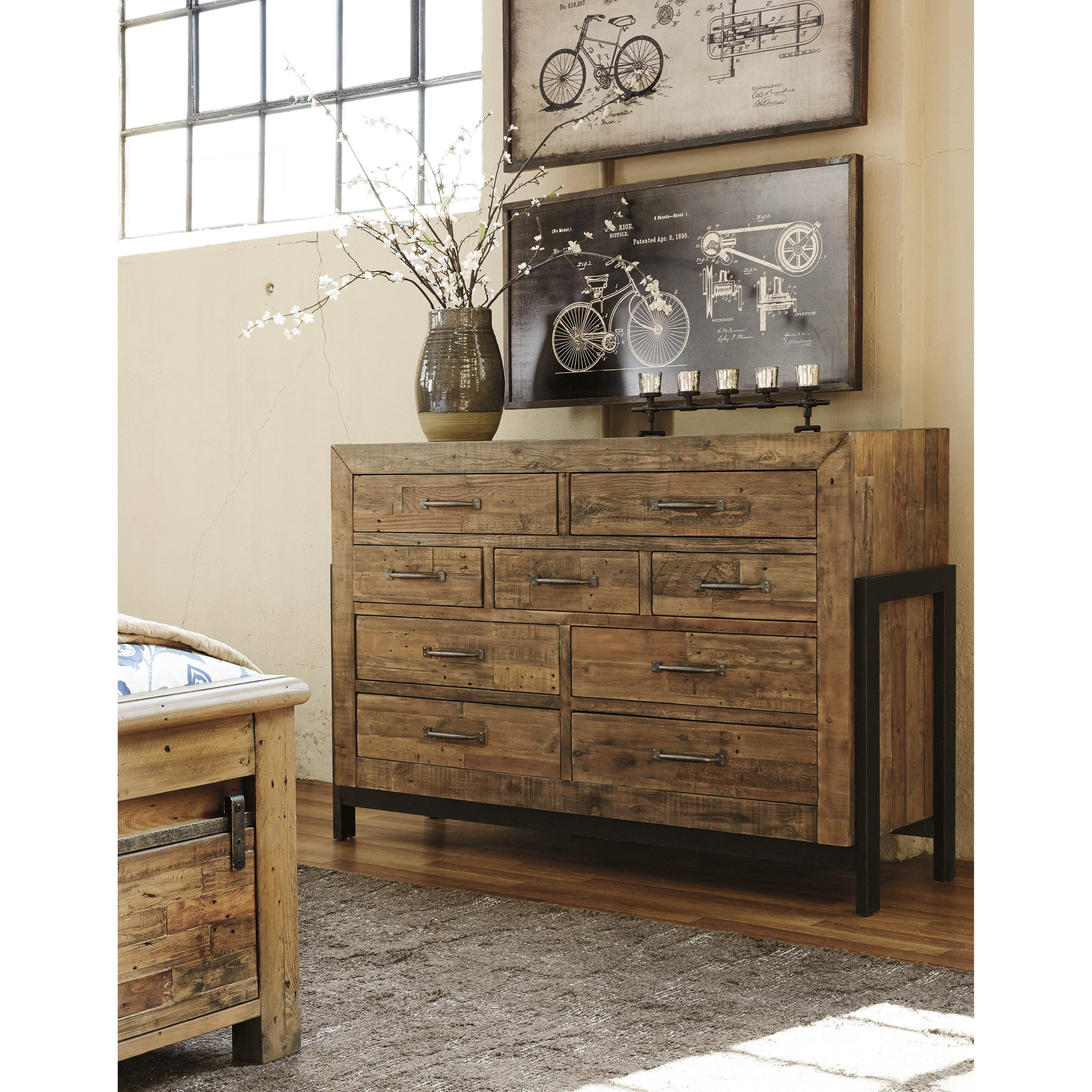 Signature Design By Ashley Sommerford B775 31 Reclaimed