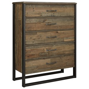 Benchcraft Sommerford Five Drawer Chest