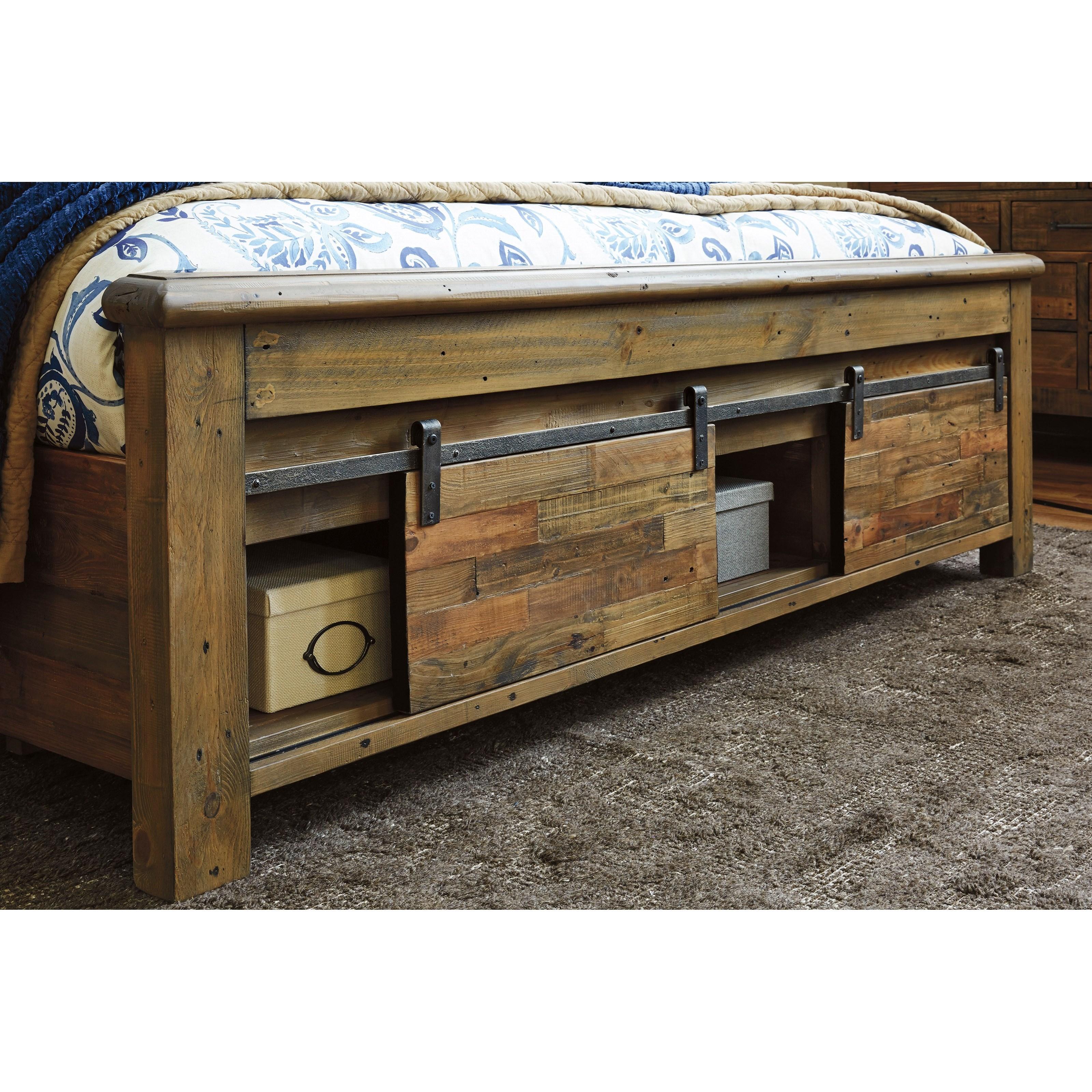 Ashley Signature Design Sommerford King Panel Storage Bed