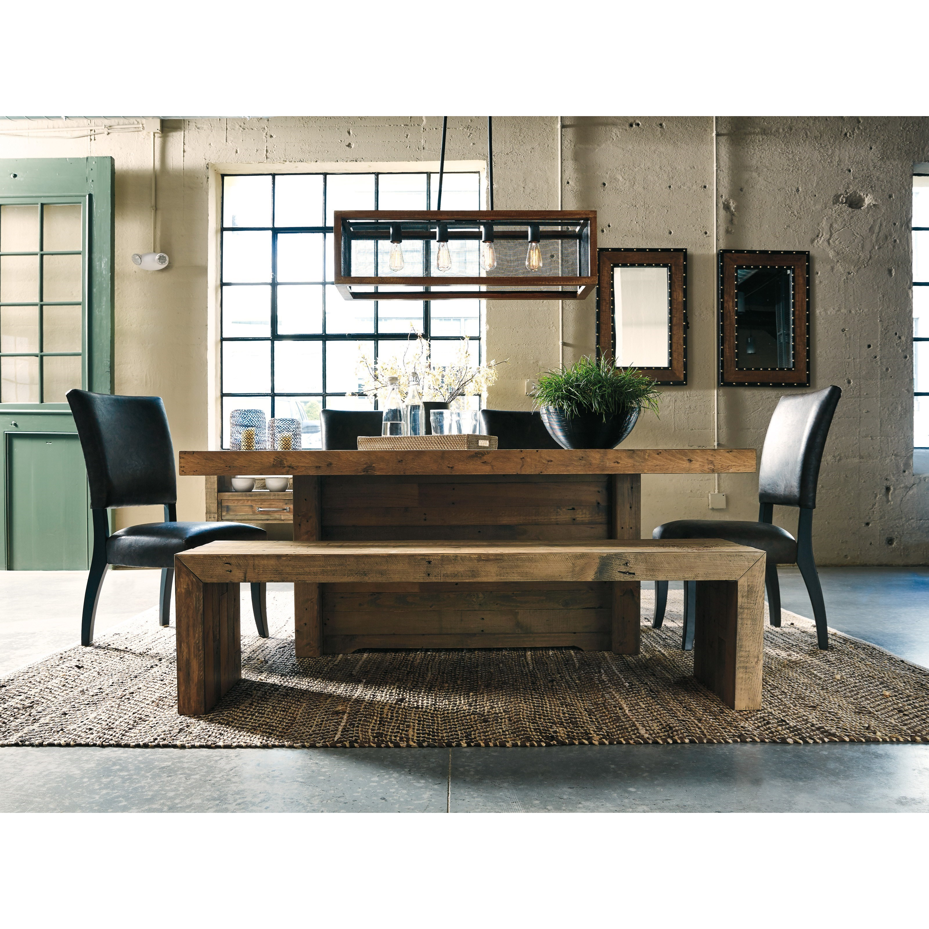 Ashley S Nest Decorating A Dining Room: Ashley Signature Design Sommerford D775-09 Large Dining