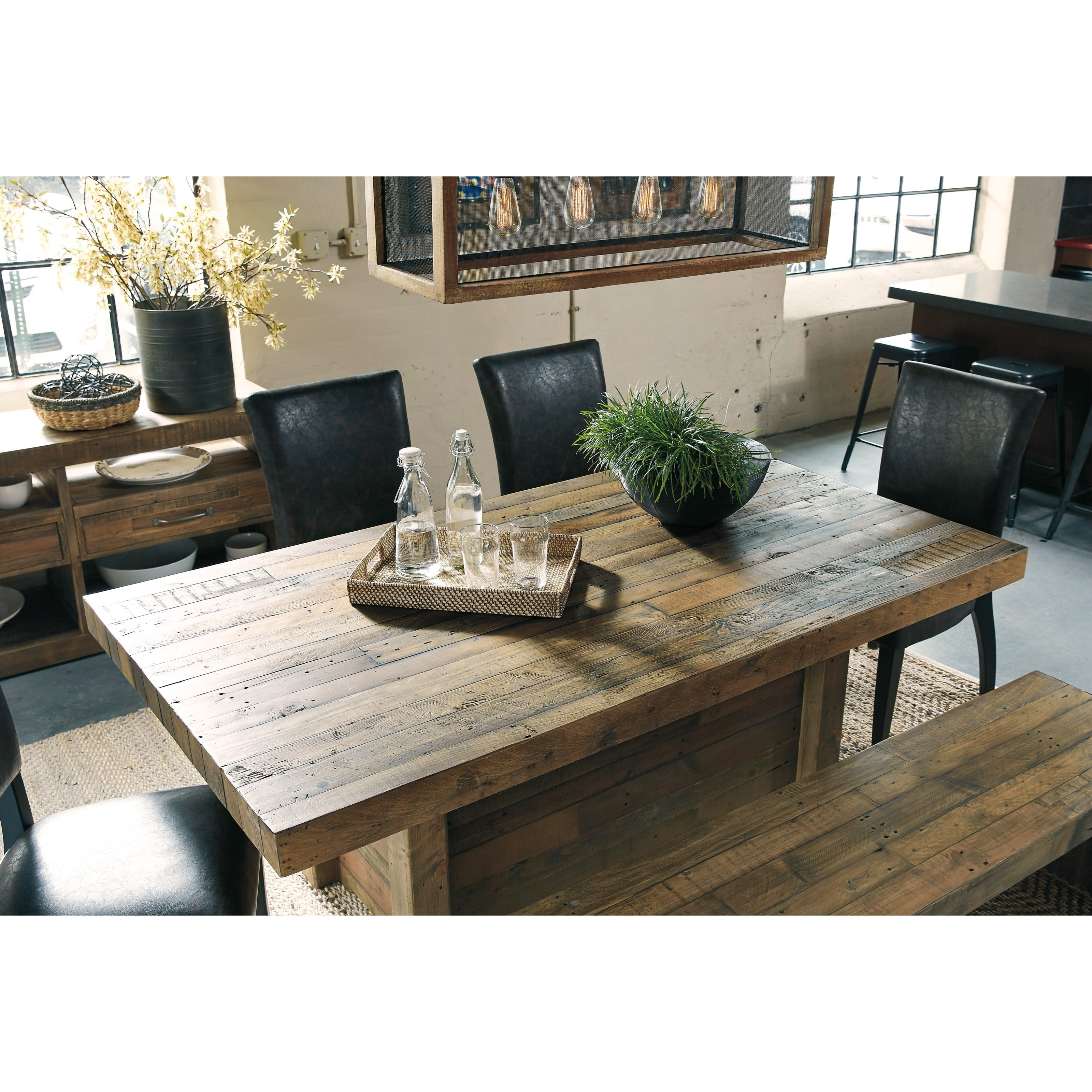 Ashley Signature Design Sommerford 6 Piece Table Set With
