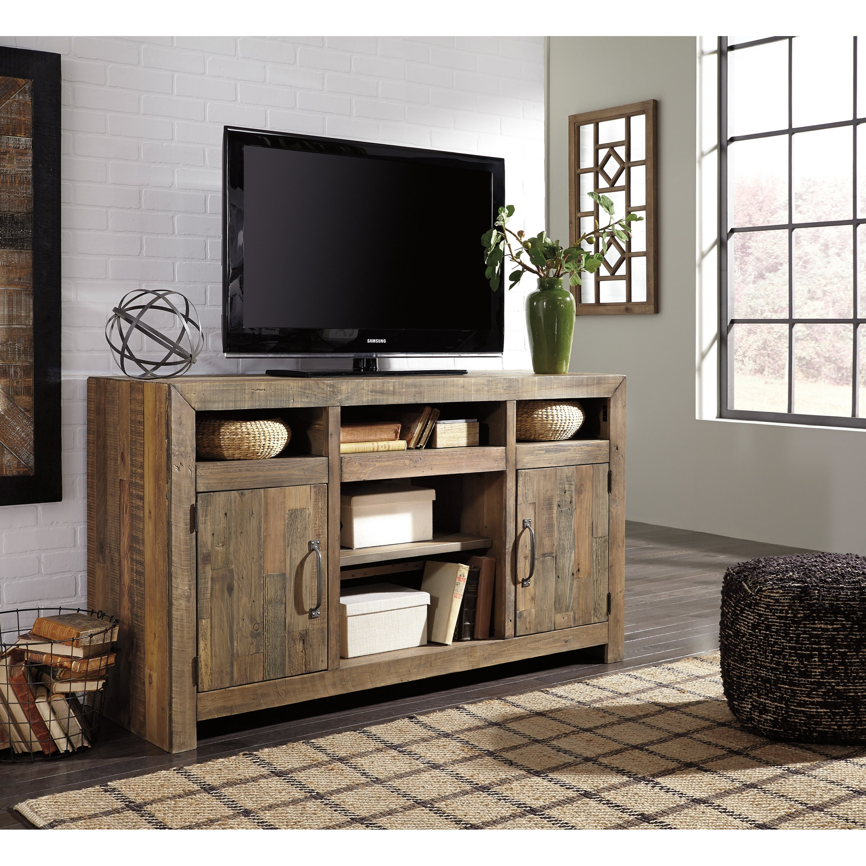 Signature Design By Ashley Sommerford W775 48 Reclaimed