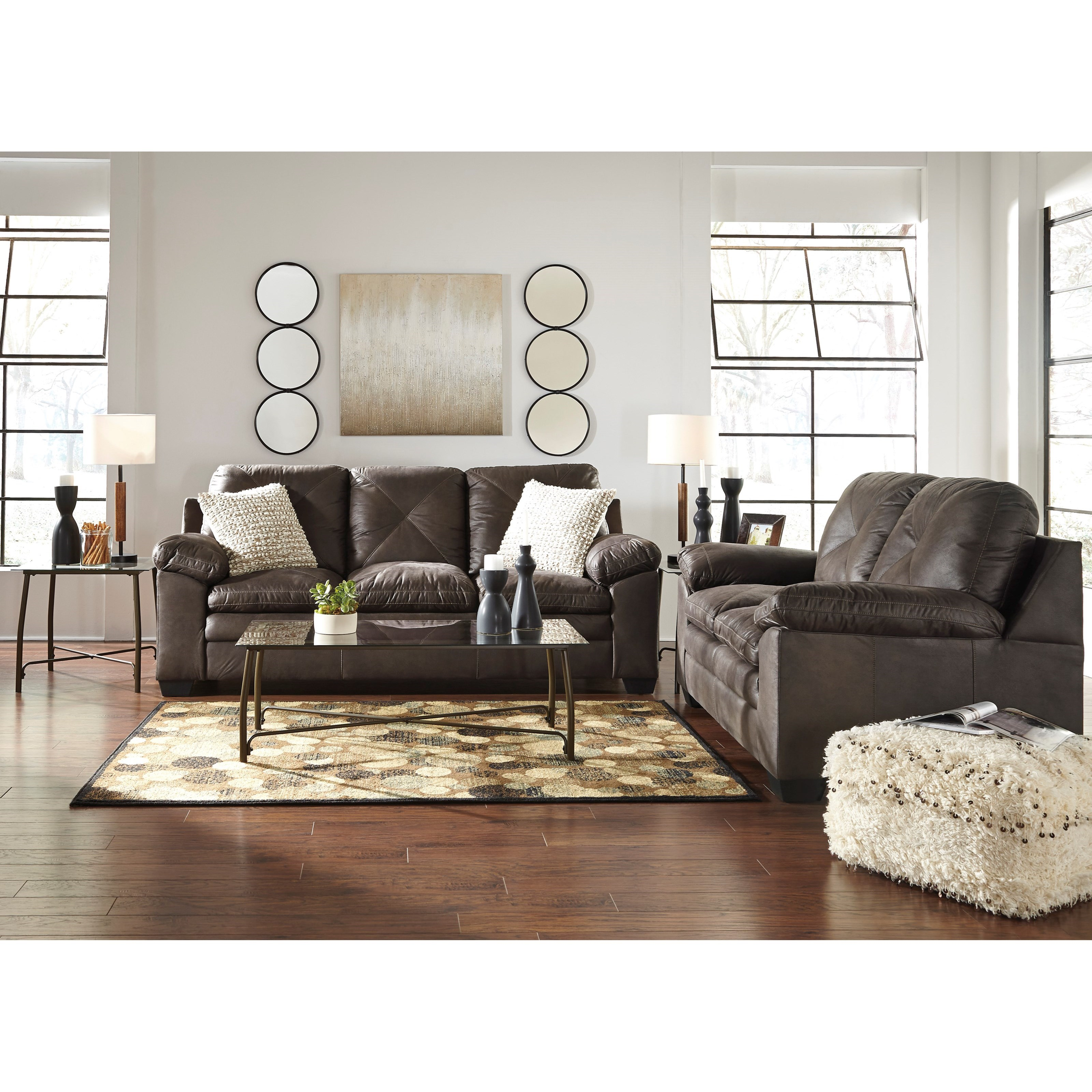 Ashley Furniture Calion Stationary Living Room Group: Signature Design By Ashley Speyer Stationary Living Room