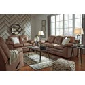 Signature Design by Ashley Speyer Stationary Living Room Group - Item Number: 86003 Living Room Group 2
