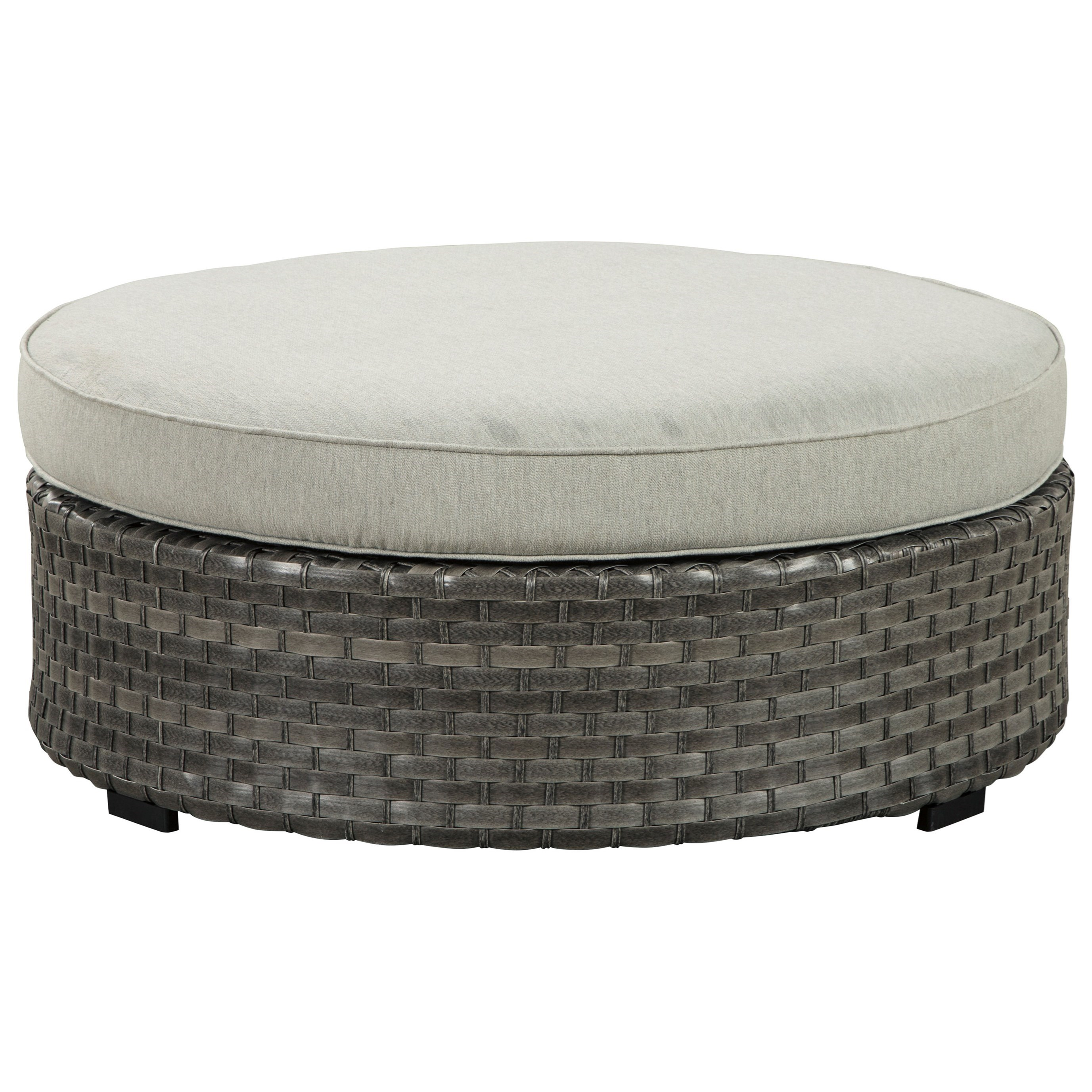 Signature Design by Ashley Spring Dew Ottoman with Cushion - Item Number: P453-814