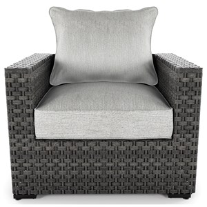 Signature Design by Ashley Spring Dew Lounge Chair with Cushion
