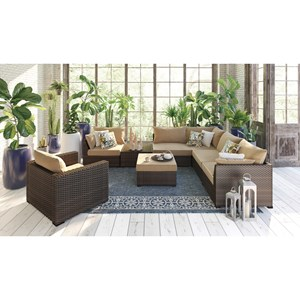 Signature Design by Ashley Spring Ridge Outdoor Conversation Set