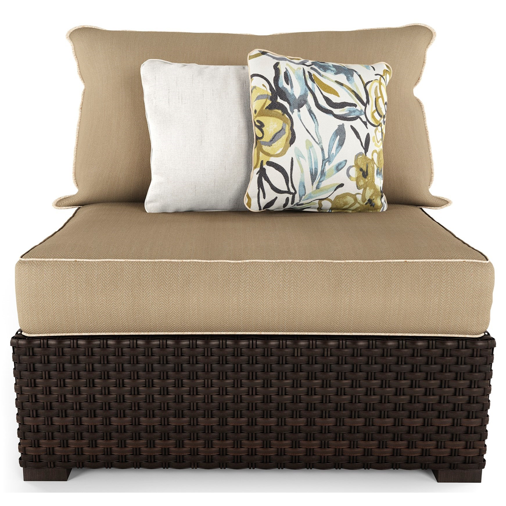 Signature Design by Ashley Spring Ridge Set of 2 Armless Chairs with Cushions - Item Number: P452-846